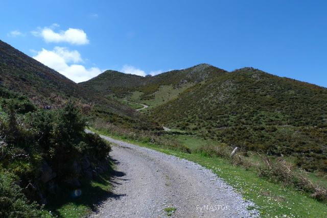 Pista por La Sierra de Pesquerín