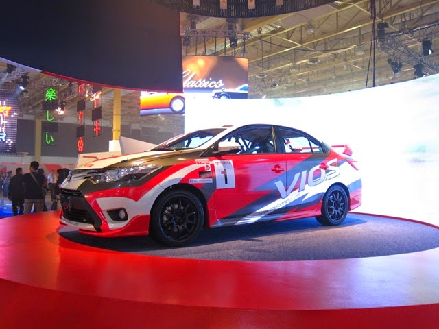 Modifikasi Toyota Vios Street Racing