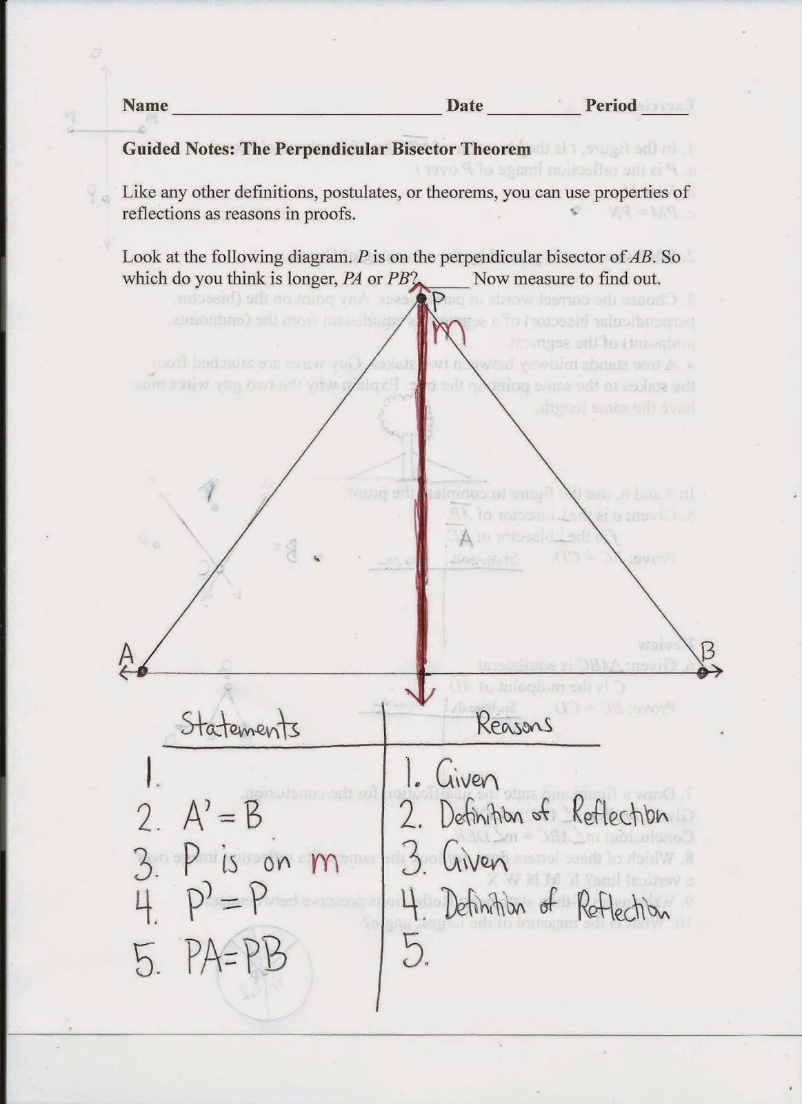 Line Segment Addition Worksheet