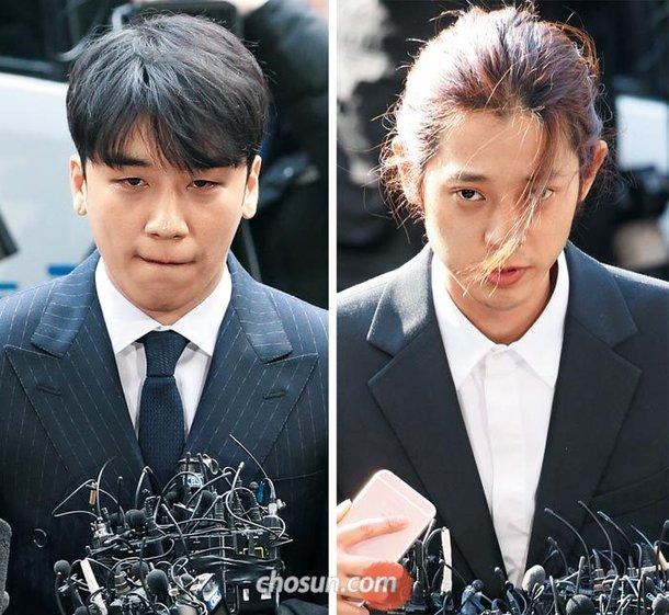 Seungri dan Jung Joon Young