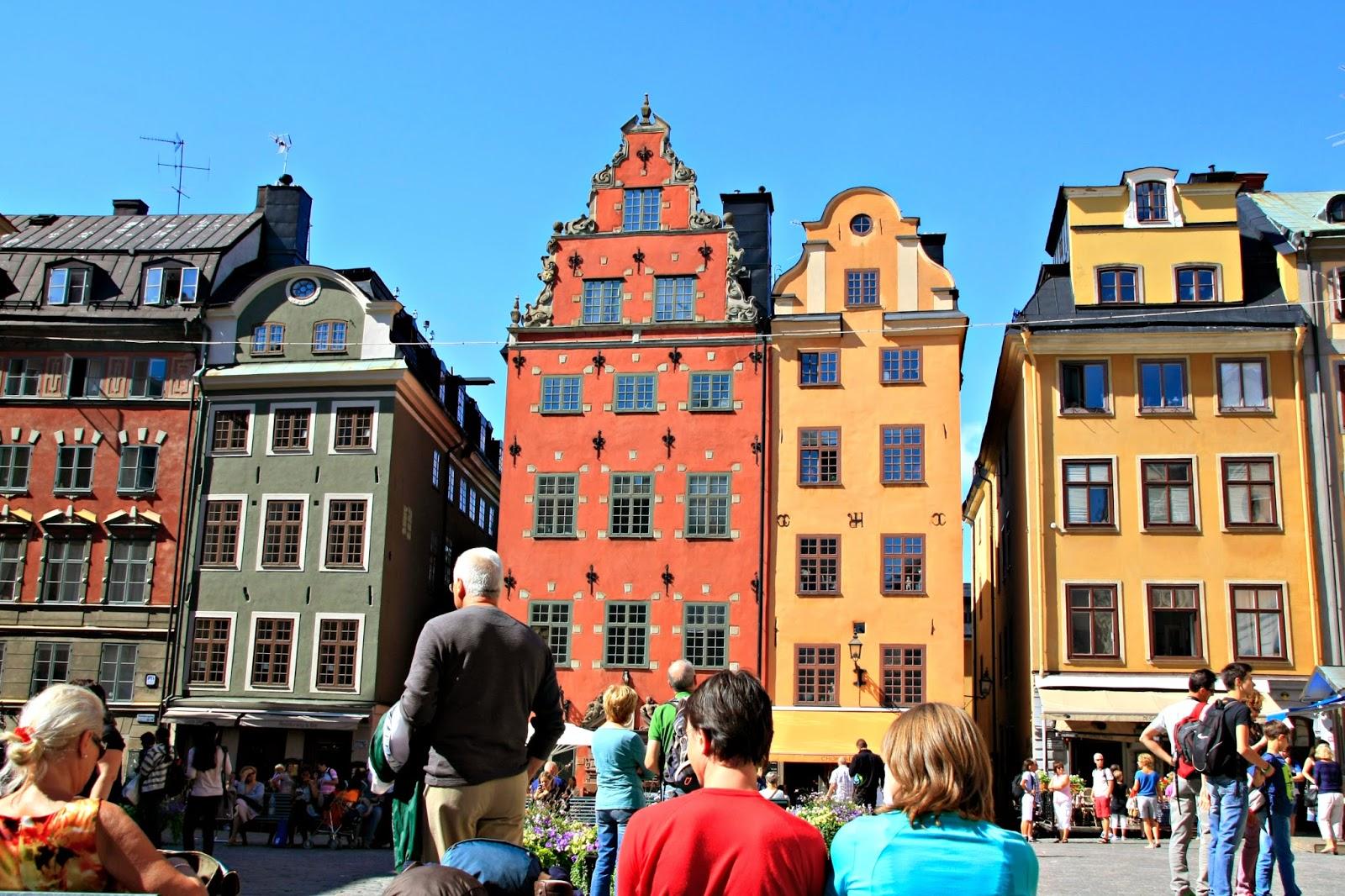 Plaza en Gamla Stan, Estocolmo.