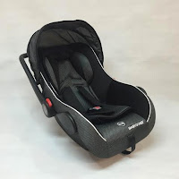 Infant Car Seat dan Baby Carrier BabyDoes BD402 Group 0+ (0 - 13kg) - Black