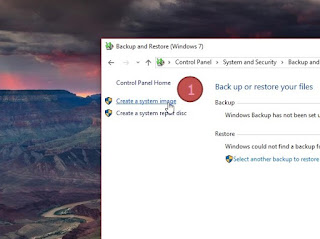 Cara Membuat System Recovery Image di Windows 10