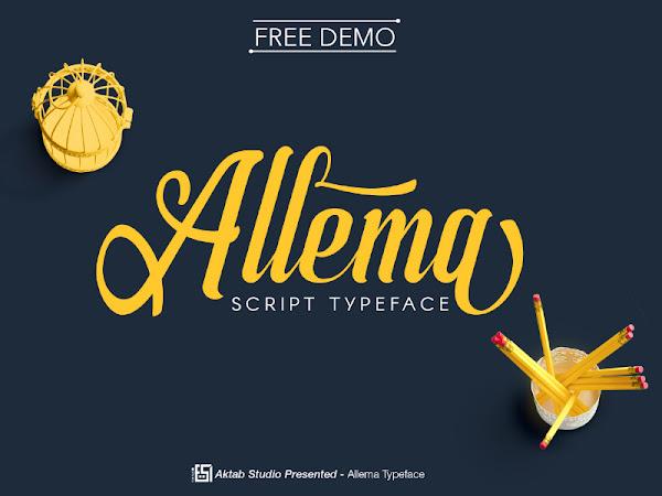 Download Allema Script Font Free