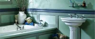 أثناء الاستحمام :