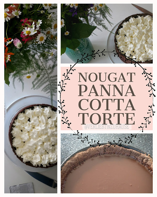 Rezept: Nougat-Panna-Cotta-Torte für Schokoladen-Junkies von Verliebt in Zuhause