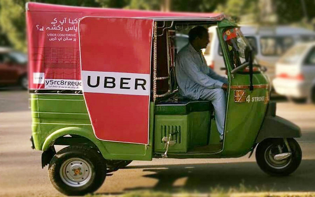 Uber Launches Affordable Rickshaw Service UberAUTO in Rawalpindi
