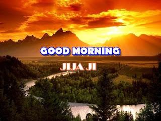 good morning jiju ji