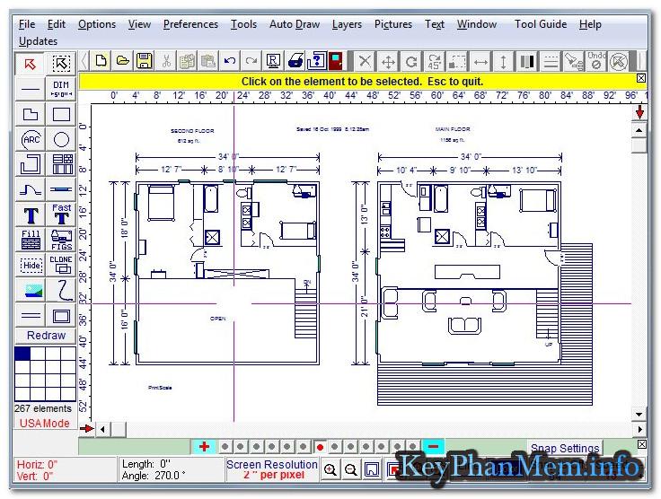 Download Home Plan Pro 5.6.2.1 Full Key, Phần mềm thiết kế xây dựng nhà ở