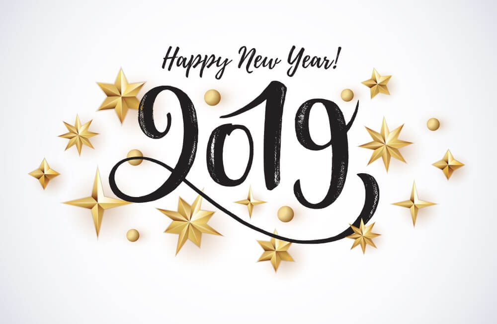 Happy New Year 2019 HD Images Wallpaper Download Free