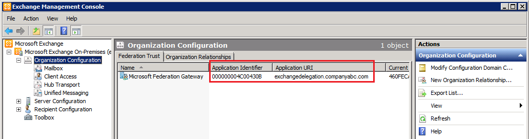 The EXPTA {blog}: How to Configure Exchange 2010 SP1 Federation