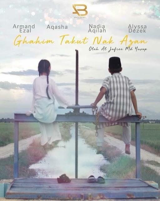 poster ghahim takut nak azan