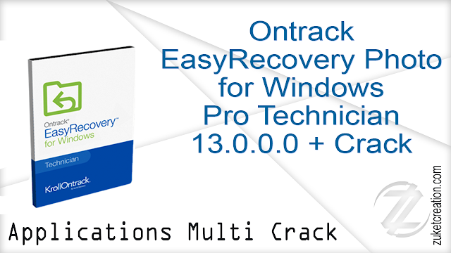 Ontrack EasyRecovery Photo for Windows Professional  Technician 13.0.0.0 + Crack