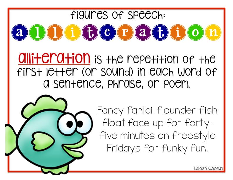 Kearson's Classroom Figures Of Speech