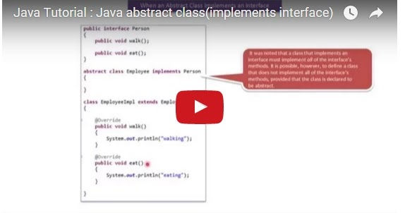 Java ee java tutorial java abstract class implements for Pool design pattern java