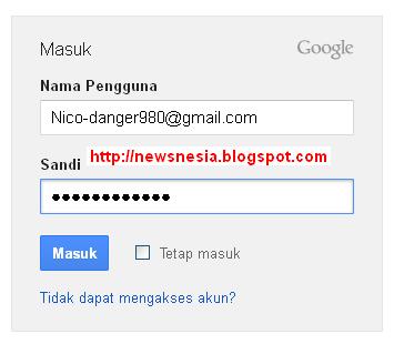 Tips Cara Masuk Ke Akun Gmail Terbaru