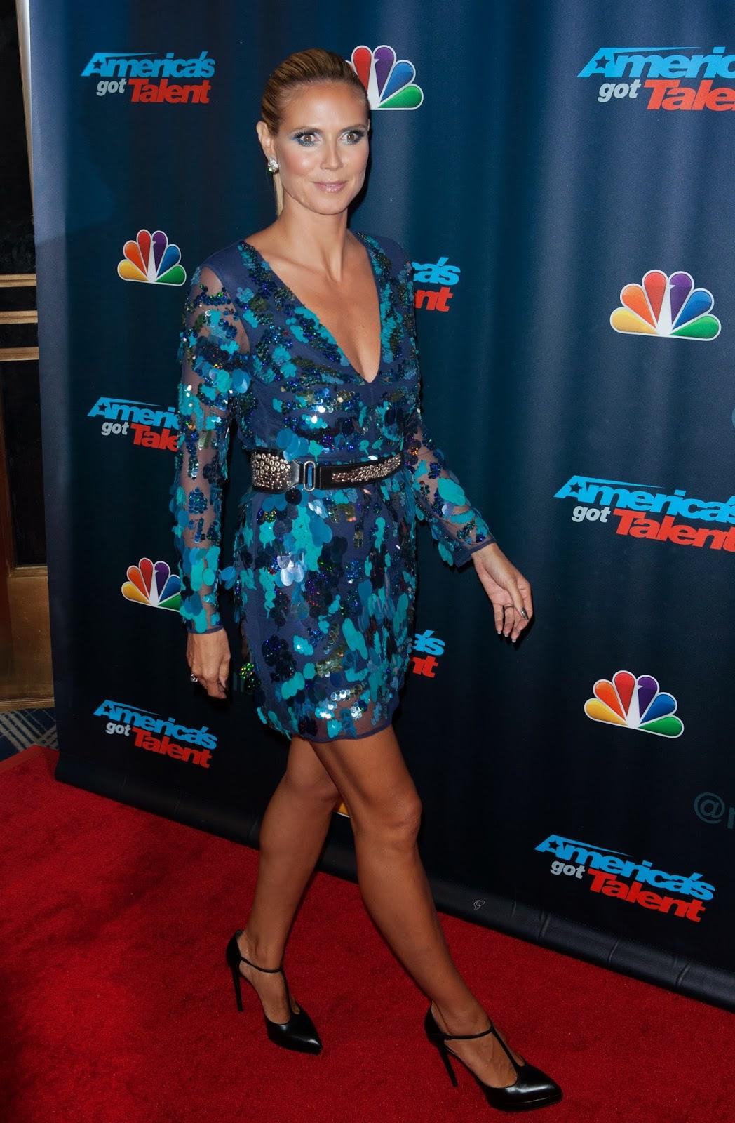 """Heidi Klum: Heidi Klum at """"America's got Talent"""" Season 8 ..."""
