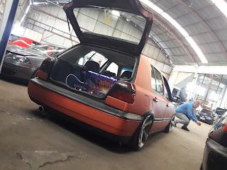 Golf laranja do Tiago