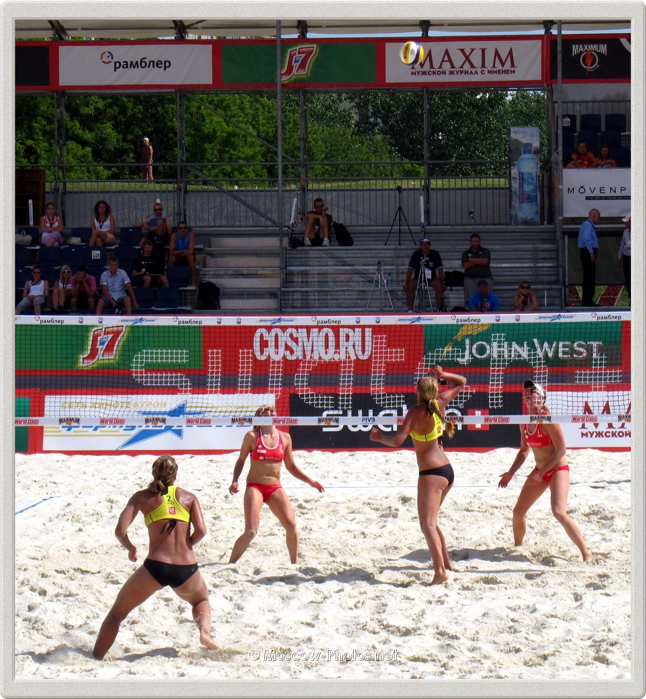 Beach Volleyball 2011 - Ball on Court