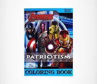 Alfamind Buku Gambar Marvel Avengers Age Of Ultron Patriotism ANDHIMIND