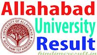 www.allduniv.ac.in 2017 Allahabad university result ba bsc bcom etc.