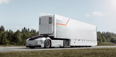 Volvo Trucks apresenta solução de transporte do futuro, com veículos autônomos e elétricos