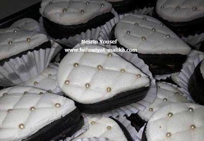 صابلي الشوكولاته بعجينة السكر