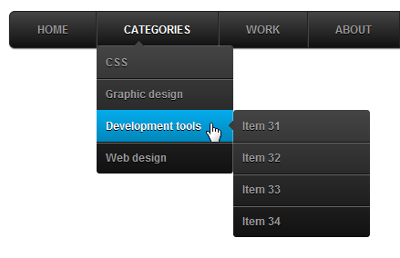 How To Add Animated CSS3 Drop Down Menu In Blogger