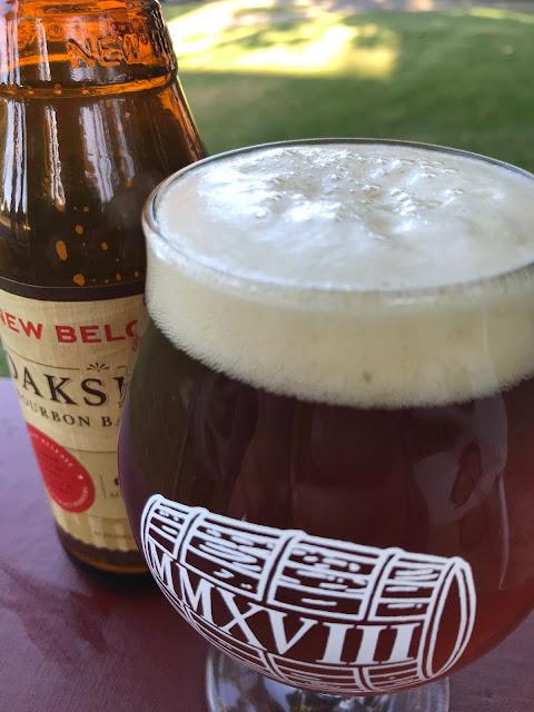 New Belgium Oakspire Bourbon Barrel Ale 2