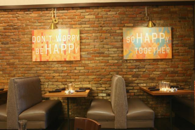 Interior dining room at The Happ Inn in Northfield, IL
