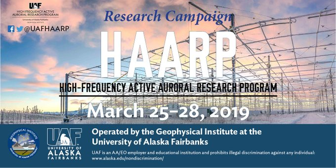 Shortwave Central: HAARP slated for research campaign