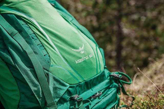 Osprey Kestrel 68 Trekkingrucksack zum Wandern 10