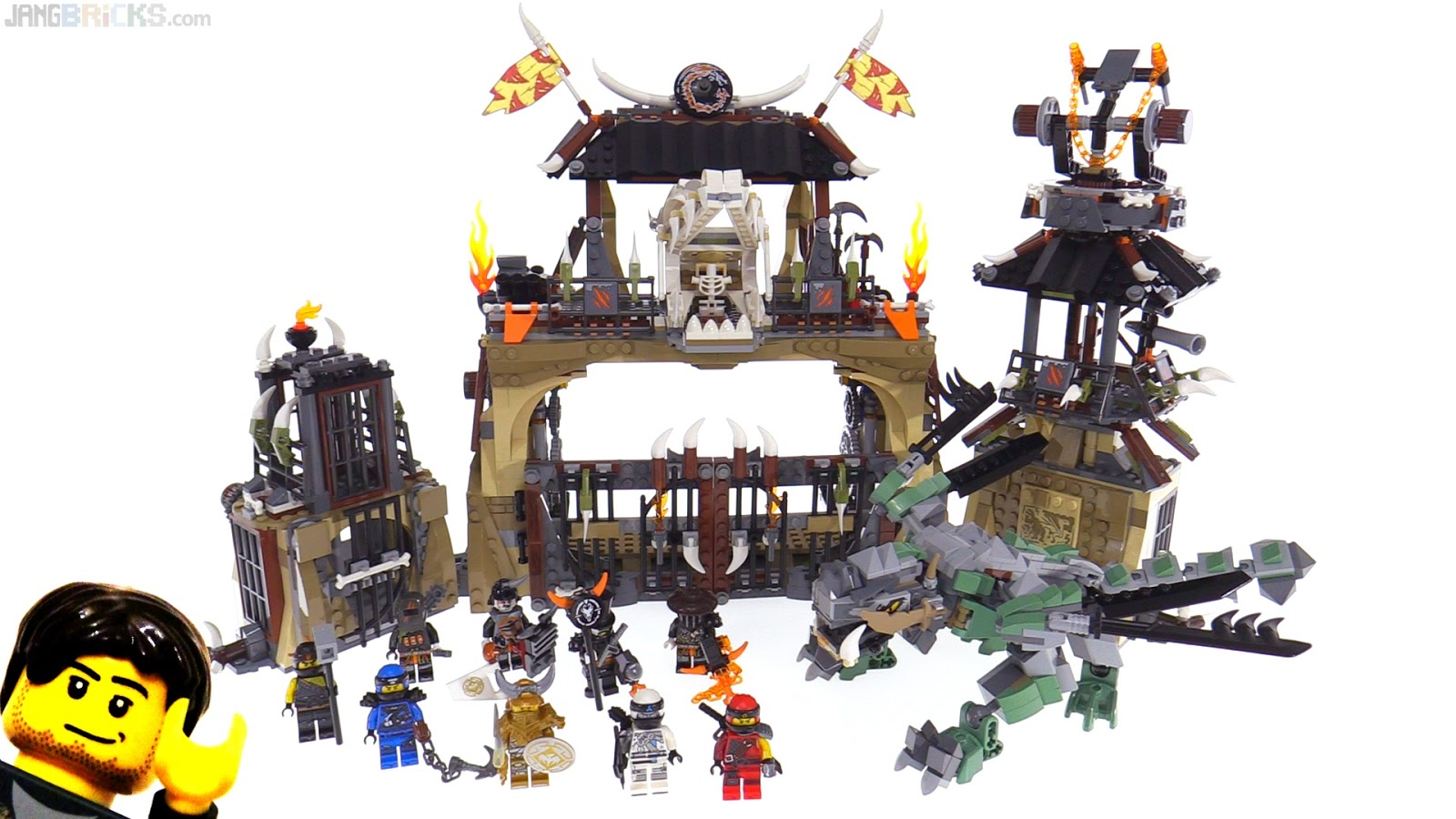 lego ninjago season 9 hunted set reviews underway