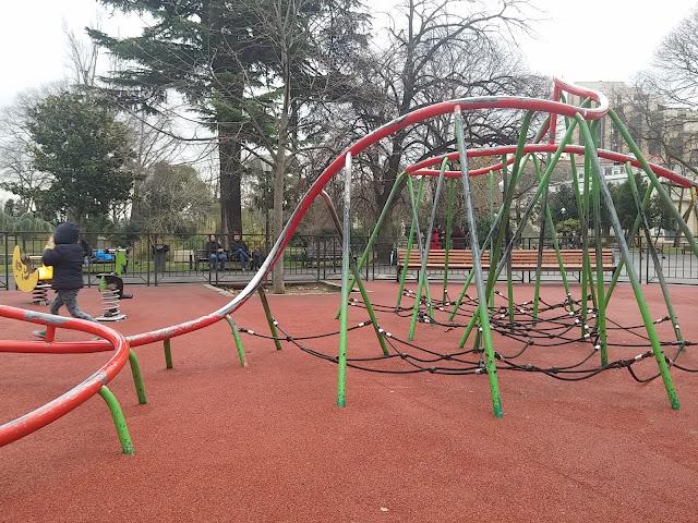 Le parc de la Musique à Montpellier