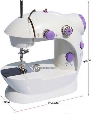 Mesin Jahit Mini Portable 4 in 1 Murah Sewing Machine