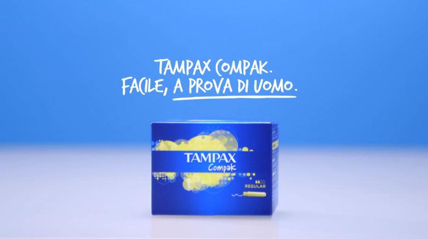 Nome modello e modella Tampax Uomini con Foto - Testimonial Spot Pubblicitario Tampax 2016