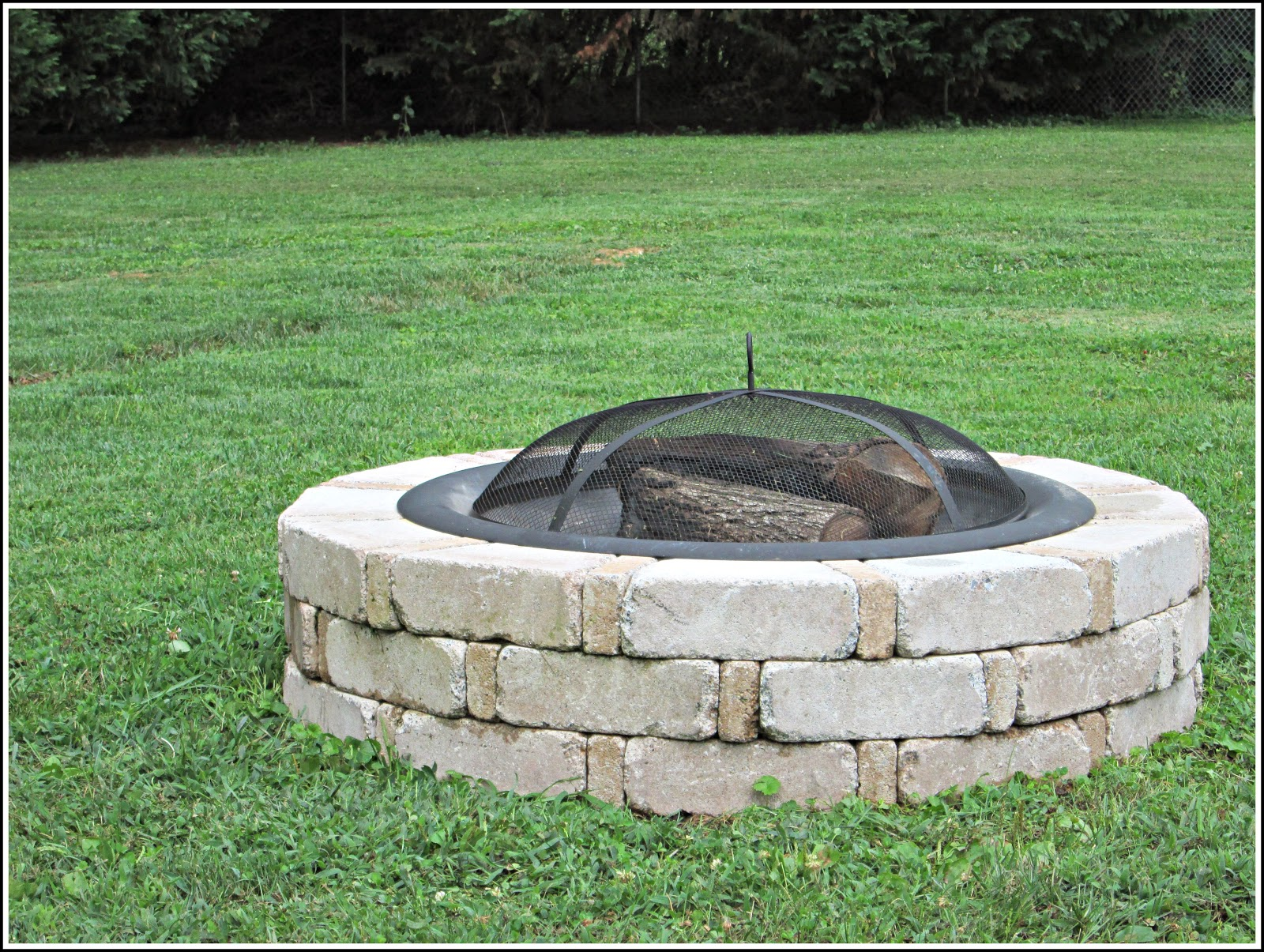 laura 39 s plans easy outdoor fire pit