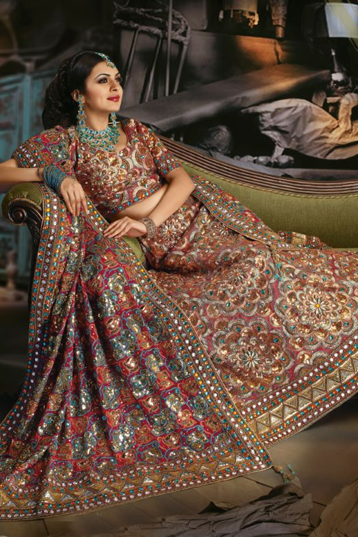 d18c1bb037 ... for a bride who wants an ultra stylish lehengA . The prices are not  exactly cheap, but the designs definitely are something that are worth a  dekko!