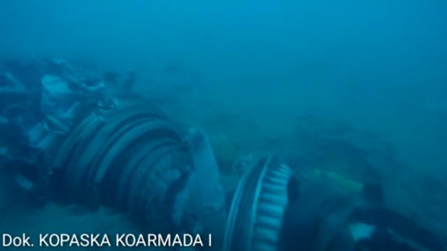 Hancur Lebur, Begini Kondisi Serpihan Mesin Pesawat Lion Air JT 610 yang Ditemukan Kopaska