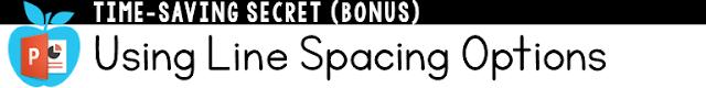 Using Line Spacing Options in PowerPoint