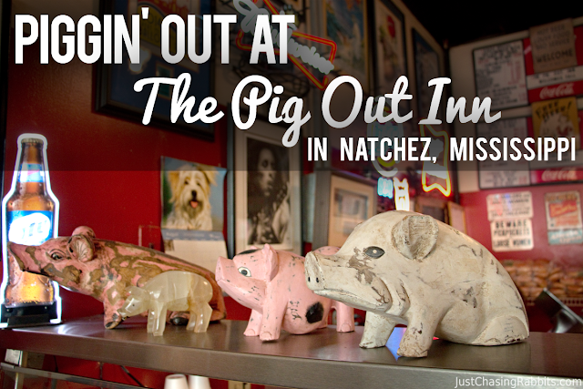 Piggin' Out on Barbecue at The Pig Out Inn in Natchez, Mississippi