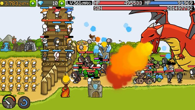 Download Game Grow Castle V1.15.6 Apk Mod (Unlimited Coins) New Version For Android 2