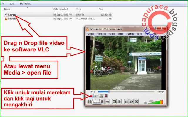 Cara memotong video dengan VLC Media Player