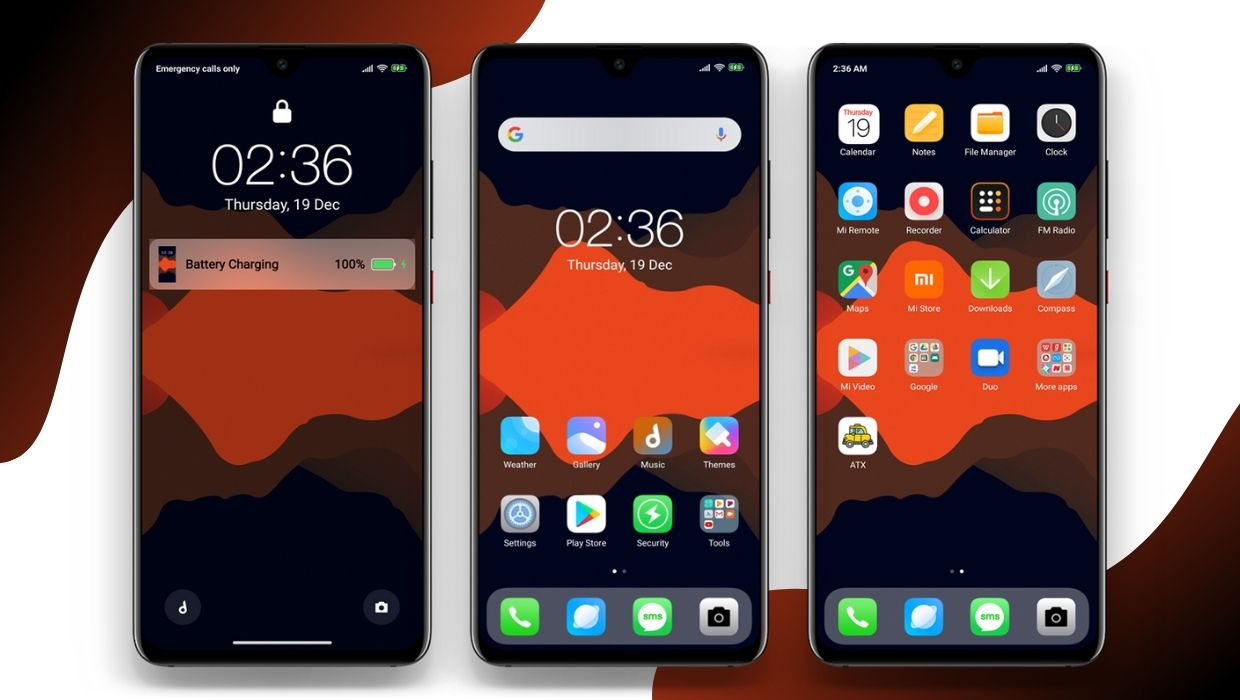 iOS Transparent DWM4 MIUI 11 Theme