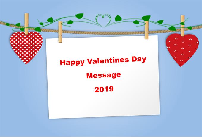 30 Best Happy Valentines Day Message For Boyfriend Girlfriend 2019