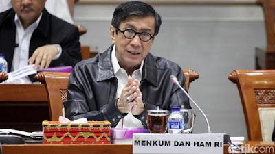 UU MD3 Penuh Kontroversi, Menkum HAM Persilakan Gugatan ke MK - Info Presiden Jokowi Dan Pemerintah