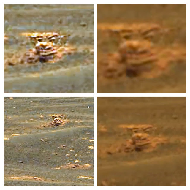 the gipster: New Face On Mars Found, Alien Base On The ...