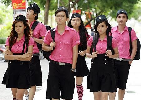 Hình ảnh Mẫu đồng phục Trường học đẹp nhất 2014