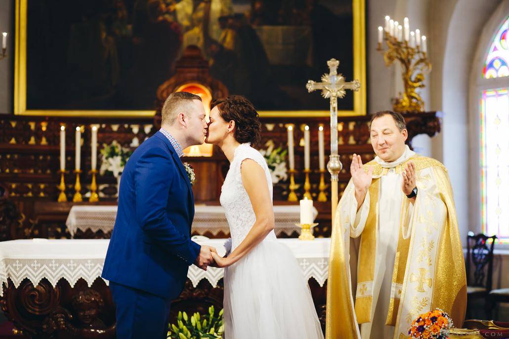 laulības ceremonija Magdalēnas baznīcā