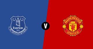 Susunan Pemain Everton vs Manchester United